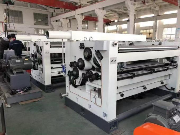 2200mm Effective Width Corrugated Cardboard Making Machine 7 PLY-300-2200 Type Seven Layer