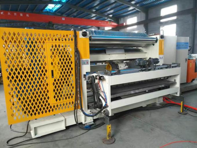 Single Facer Corrugated Cardboard Making Machine Fast Chang Single Facer Cassette Type