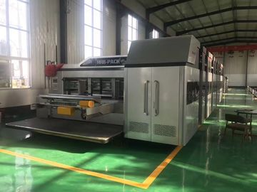 China Vacuum Transport 04 Color Printing Slotting And Die - Cutting Machine HRB-920 1224 1228 supplier