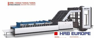 China HRB-1300A Flute Laminator Machine High Speed Automatic Flute Laminator supplier