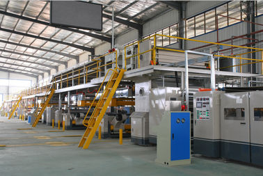 China 2200mm Effective Width Corrugated Cardboard Making Machine 7 PLY-300-2200 Type Seven Layer supplier