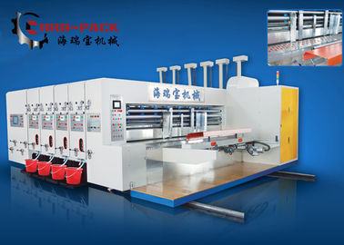 China Automatic Flexo Printer Slotter Machine For Carton Box Making supplier