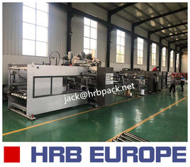 China Fully Automatic Corrugated Cardboard Making Machine Inline Folder Gluer Machine supplier