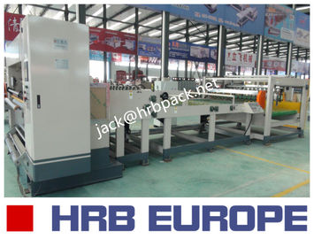 HRB-1600MM 2 Ply Single Facer Corrugated Paperboard Production Line / Carton Box Packaging Machine