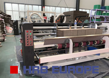 China Corrugated Carton Box Folder Gluer Machine Siemens System Electric Driven factory
