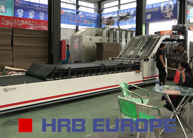 China HRB-1300A Automatic Flute Laminating Machine factory