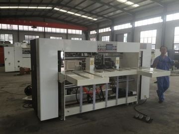 China Semi - Auto Double Piece Corrugated Paperboard Stitching Machine / Carton Box Making Machine factory