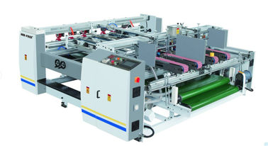 China Semi Auto Pressure Double Piece Folder Gluer Machine Corrugated Box Folding Machine factory