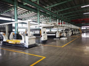 High Speed Corrugated Cardboard Production Line 2 3 5 7 Layers corrugated paper