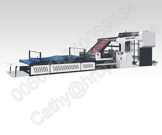 China High Speed Electric Flute Cardboard Laminating Machine Fully Automatically factory