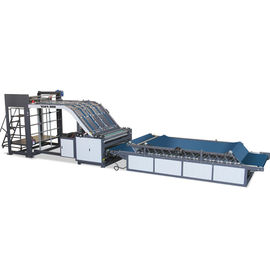 China HRB-1300HII Semi-Auto Flute Laminating Machines for corrugated paperboard factory