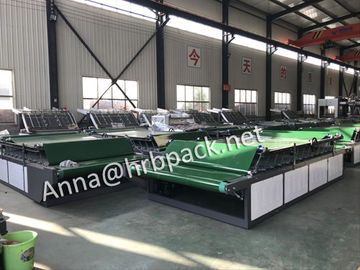 China High Speed Semi Automatic Flute Laminator max board 1600x1200mm factory