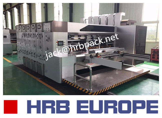 Fully Automatic Corrugated Cardboard Making Machine Inline Folder Gluer Machine