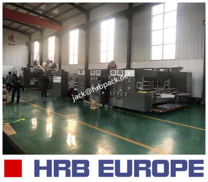 High Precision Corrugated Box Manufacturing Machine 3.9mm Standard Plate Thickness